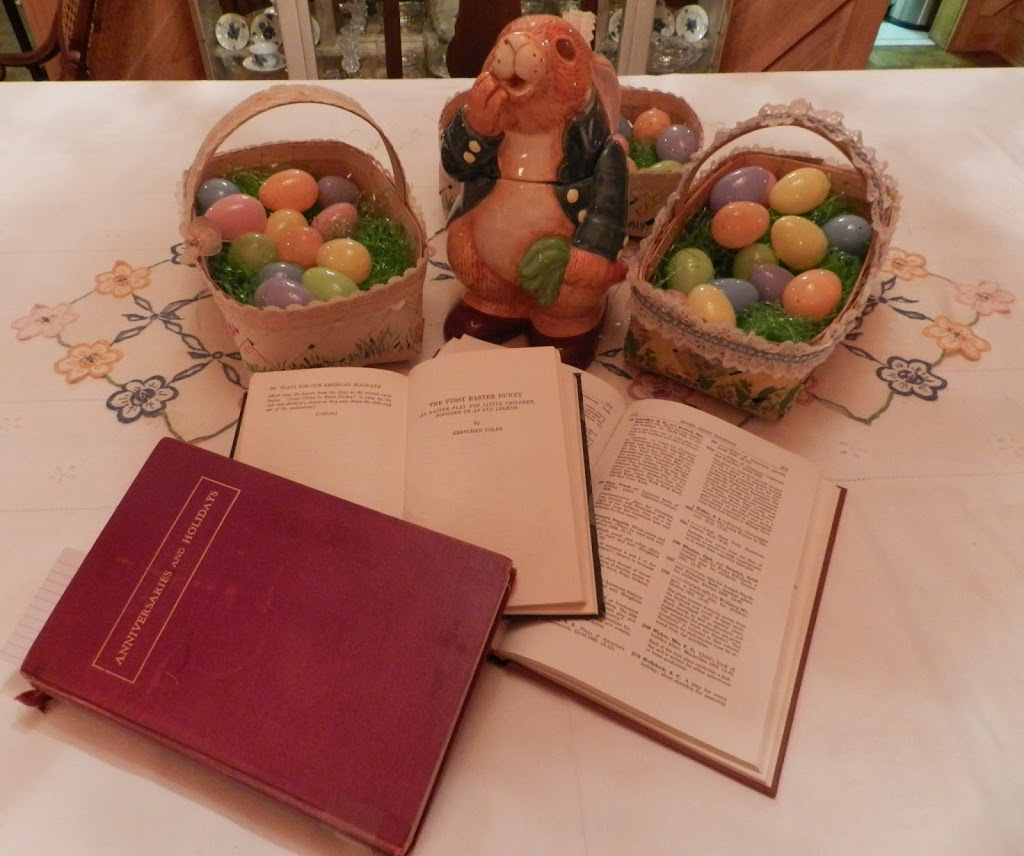 A Tribute to Librarians and the Easter Bunny