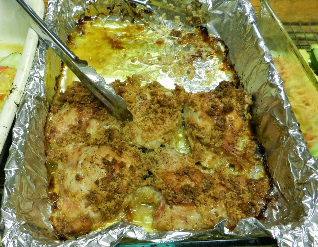 Recipe: Oven Fried Chicken IV