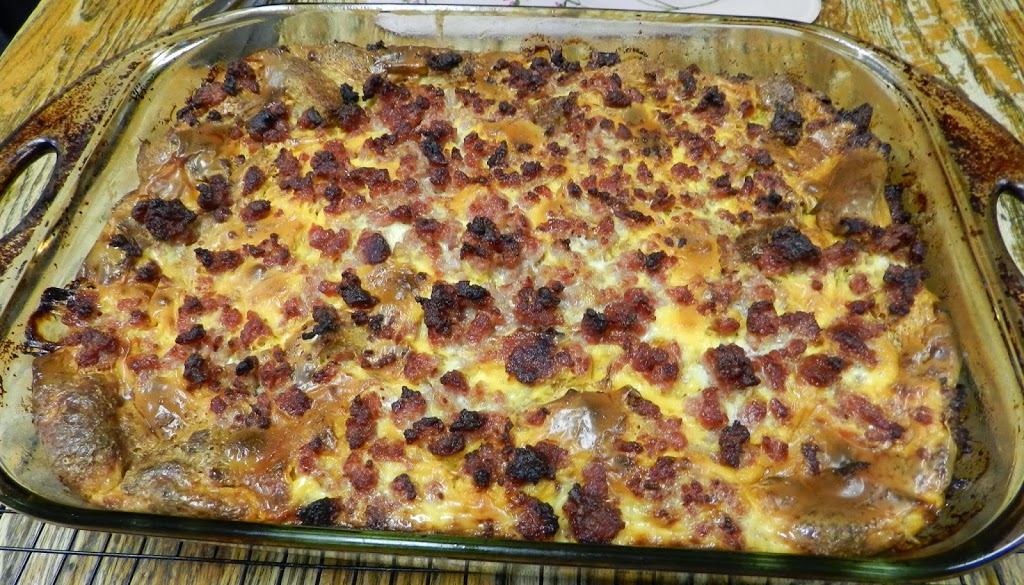 Recipe: Best Breakfast Casserole and Party Variation