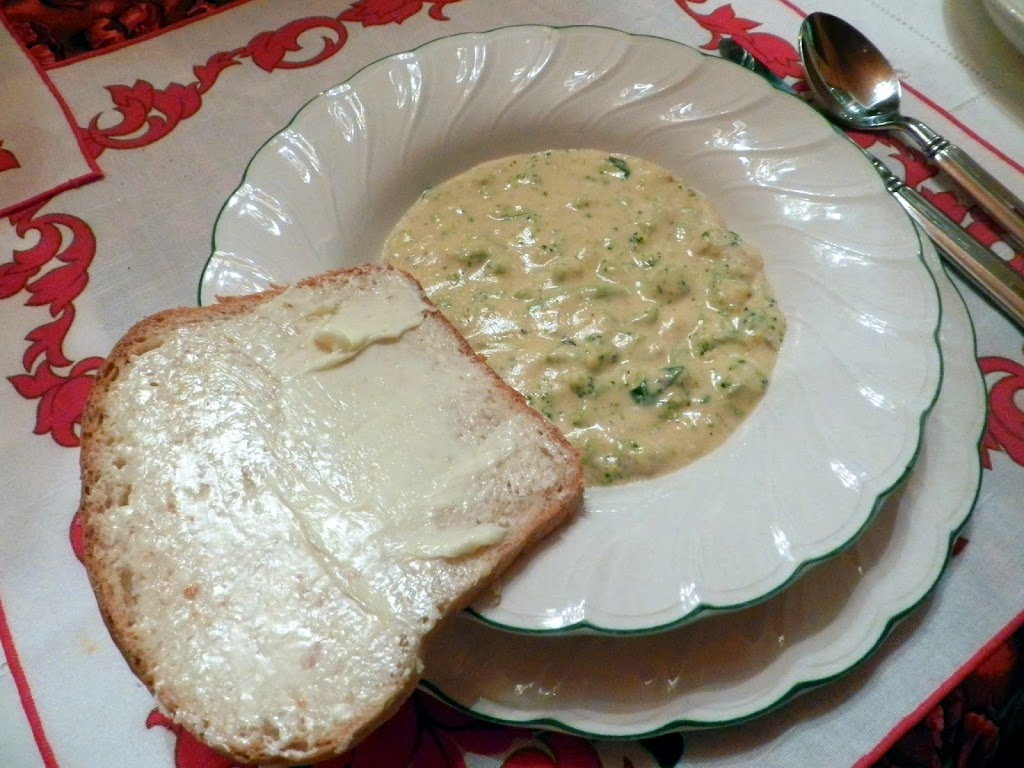 Recipe: Beer Cheese Broccoli Soup